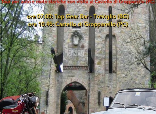 """2015 – """"Dame, cavalli e cavalieri…"""" presso il castello di Gropparello (PC)"""