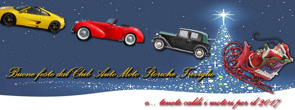 Buone Feste dal Club Automoto Storiche Treviglio!