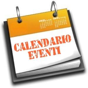 Calendario provvisorio eventi 2019