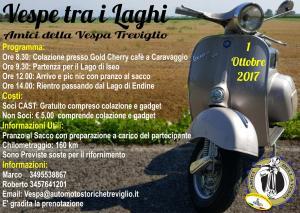 Vespe tra i Laghi @ Lago d'Iseo e Lago di Endine; ritrovo a Caravaggio | Caravaggio | Lombardia | Italia