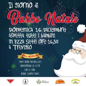 Il giorno di Babbo Natale: babbi in moto all'ospedale di Treviglio e in centro @ Treviglio | Treviglio | Lombardia | Italia