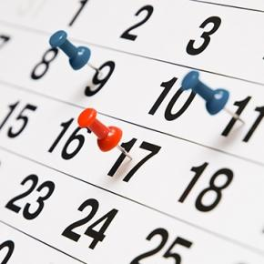 Calendario aperture sede Gennaio 2019