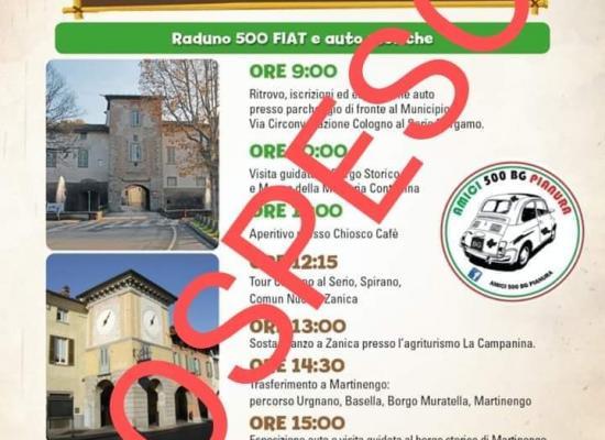 Aggiornamento Raduno Esterno Castelli in tour del 1/3/2020