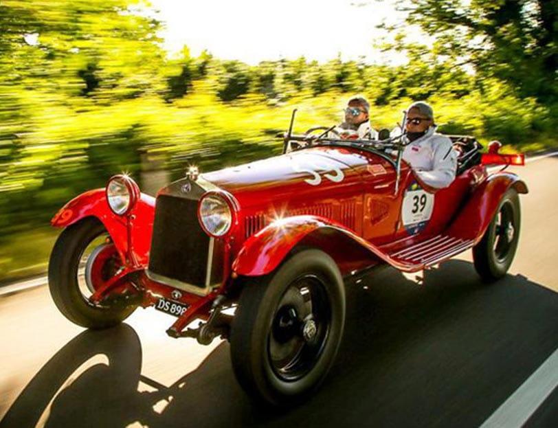 Benvenuta Mille Miglia – passeggiata con auto storiche